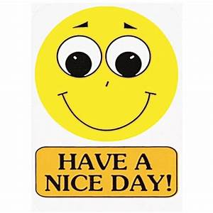 Image Smiley Of Have A Nice Day Good Day Download High