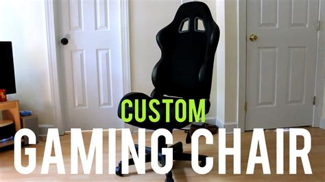 how to make your own gaming chair 2015 diy fyi