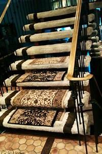 le tapis pour escalier en 52 photos inspirantes With tapis pour marches d escalier