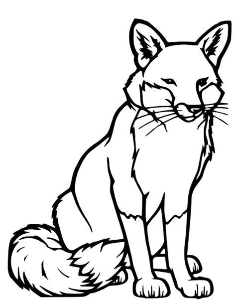 dessin renard facile coloriage renard les beaux dessins de animaux 224 imprimer et colorier