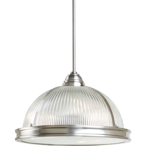 seagull lighting pendant sea gull lighting pratt prismatic 3 light brushed
