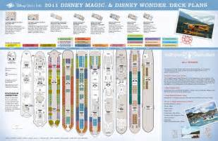 2011 disney cruise deck plans mousemisers