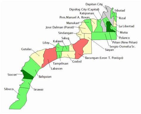 filezamboanga del norte  municipalities mapjpg