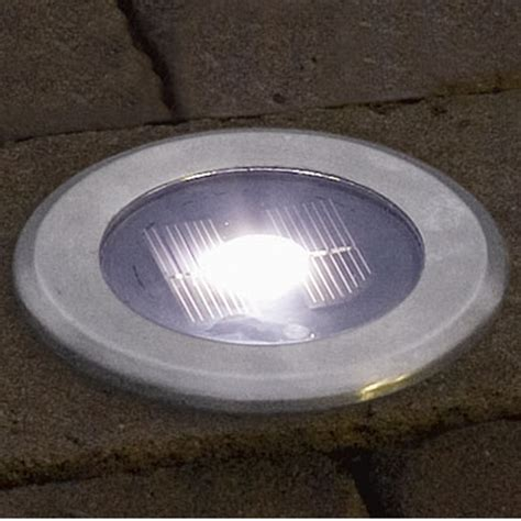in ground led light fixtures konstsmide 7626 000 led solar ground light