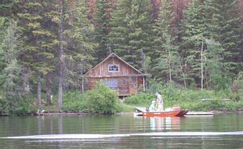 standout fishing cabin netting fish nostalgic