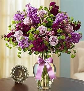 Custom Purple & Lavender Flower Arrangements by Carithers ...