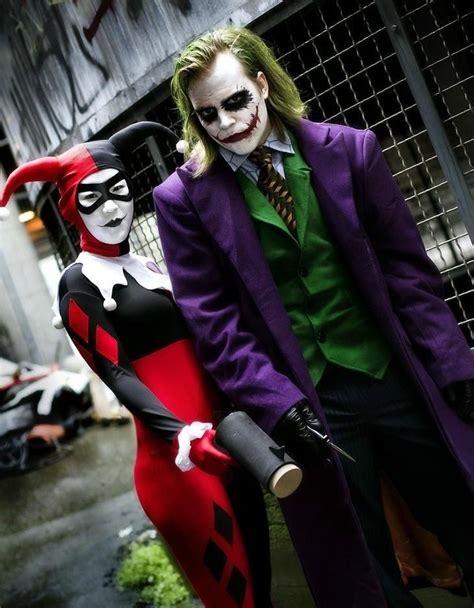 Joker and harley quinn couple cosplay - Google Search | Cosplay | Pinterest | Couples cosplay ...
