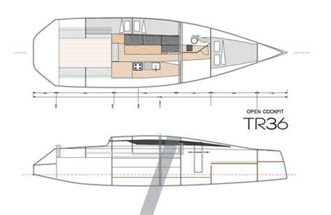 Trimaran Length To Beam Ratio by Tr42 Performance Trimaran Grainger Designs Multihull Yachts