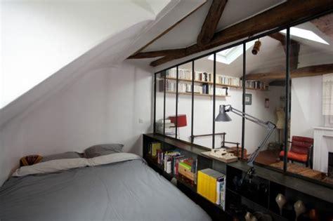 cloisonner une chambre 4 idées pour séparer les espaces dans ses combles sans