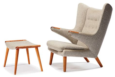 hans j wegner style papa chair hans wegner furniture to go to auction in los angeles