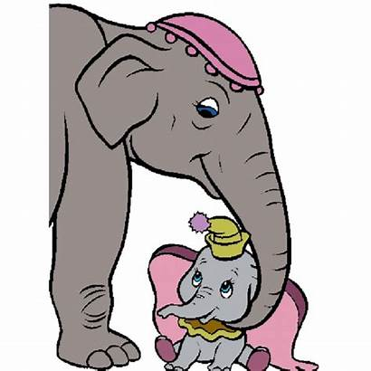 Dumbo Mamma Disegno Disegni Colori Colorare Colorati
