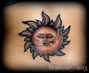 Sun and Moon Tattoo by BrantnerTattoo74 on DeviantArt