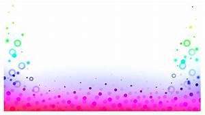 Bubbles, Border, Frame, Rainbow