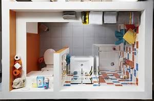 Plan Petite Salle De Bain Avec Wc : plan salle de bain wc fabulous plan salle de bain wc with ~ Melissatoandfro.com Idées de Décoration