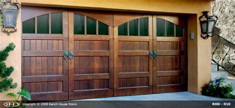 Ranch Door & Residential Garage Door Manufacturers