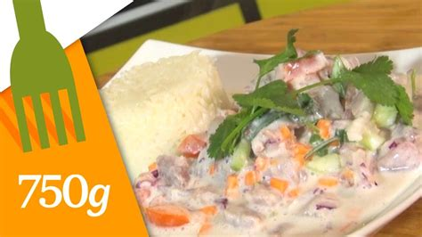 750 grammes recettes de cuisine recette de poisson cru à la polynésienne 750 grammes