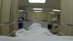 Hospital recovery bed breathing emergency room HD. Mature ...