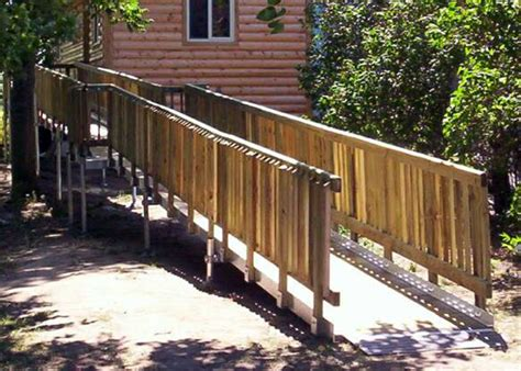 wheelchair ramp handicap ramp wood ramp rochester ny