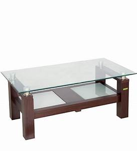 Buy Centre Table In Brown Colour By Zuari Online