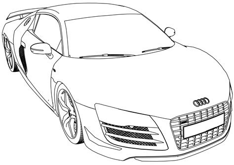 Fresh Audi Coloring Pages Gallery Printable Coloring Sheet