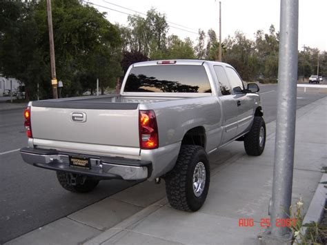 2005 Chevy Trucks by 2005 Chevrolet Silverado Lifted