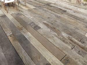 planches a wagon en bois exotique de recuperation With parquet de récupération à vendre