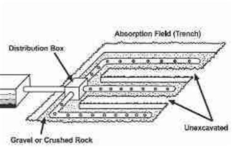 commercial septic tank drainfield design size requirements