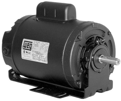 Weg Electric Motors by Weg Electric 5018es1brbpfc56 0 5hp Hvac Motor