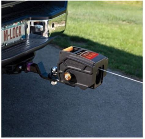 Boat Winch Lock by 12v Portable Winch Master Lock Electric Hitch Boat Trailer