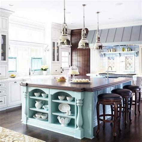 Kitchen Island Accent Color by Accent Color Island Kitchen Island Kitchen Cottage