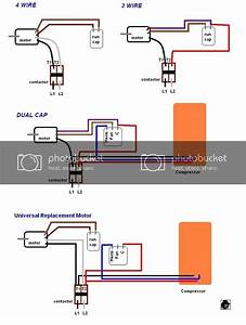 Wiring Diagram For Condenser Fan Motor