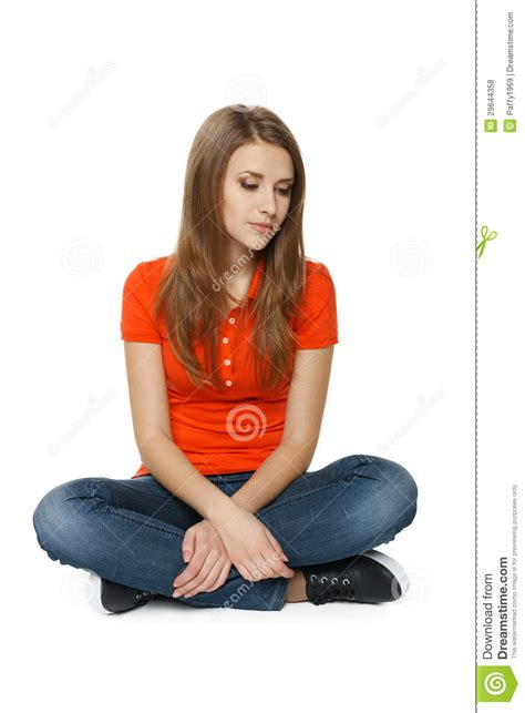 Sitting On The by Sitting On The Floor Stock Photo Image 29644358