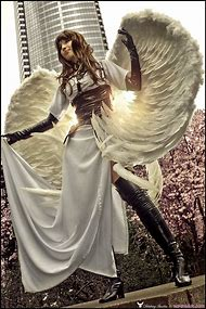 Cosplay Steampunk Angel