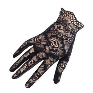 lace gloves short black lace gloves black co uk