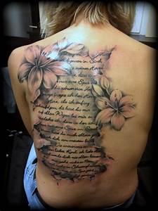 Hand Tattoos Schrift : lilien schrift black grey ink couture tattoo ~ Frokenaadalensverden.com Haus und Dekorationen