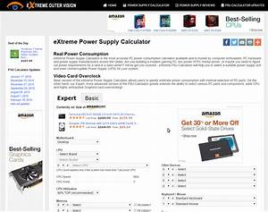 Power Supply  Extreme Power Supply Calculator