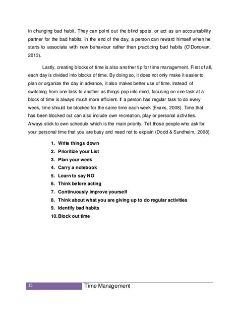 Assignment On Time Management Short Essays For Students Assignment