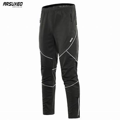 Pants Thermal Trousers Running Winter Cycling Fleece