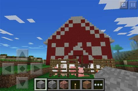 Minecraft Pe Barn by My Minecraft Barn Complete With Farm Animals I