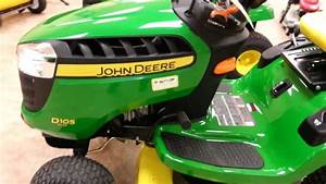 Walkaround Of A New John Deere D105 Lawn Tractor