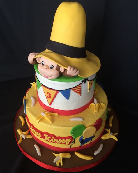 curious george birthday cake curious george cakecentral