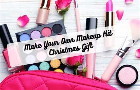 Make Your Own Makeup Kit Christmas Gift