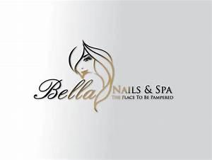 bella nail and spa logo design idea   Logo and Branding ...