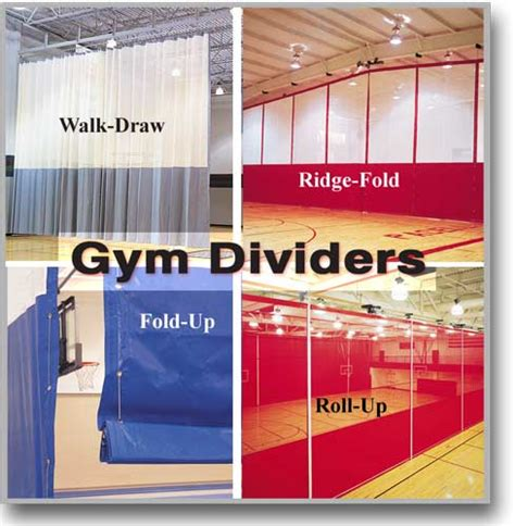 gymnasium divider curtains