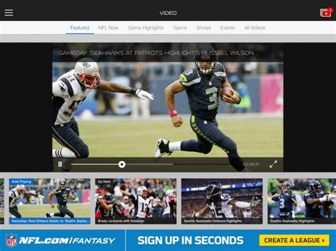 nfl mobile app updated  nfl  nfl network schedule