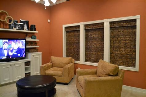 burnt orange paint color living room best family rooms