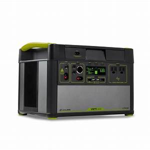 Mountable Solar Lights Yeti 1400 Lithium Portable Power Station Wifi App Enabled