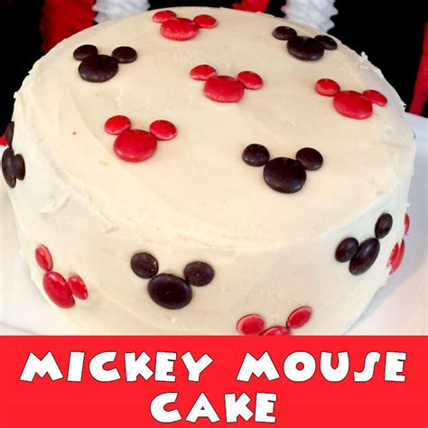 Mickey Mouse Cake Two Sisters Crafting