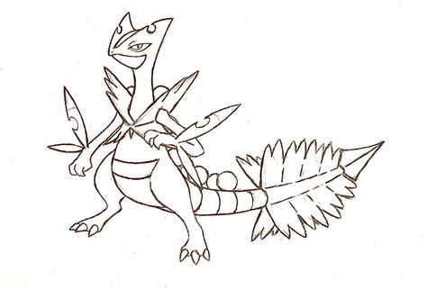 Serperior Coloring Pages Sanfranciscolife