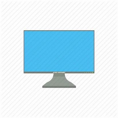 Cartoon Monitor Computer Screen Display Icon Technology
